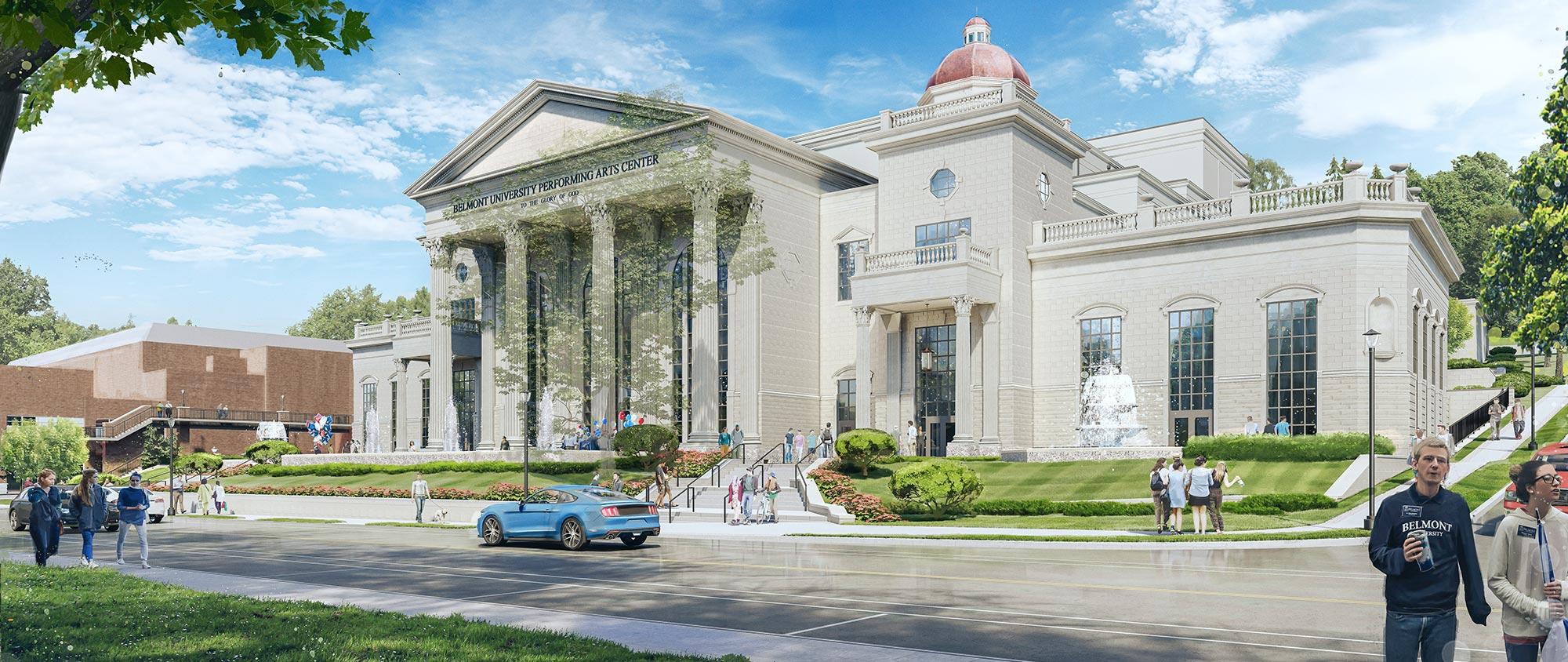 Belmont University Performing Arts Center