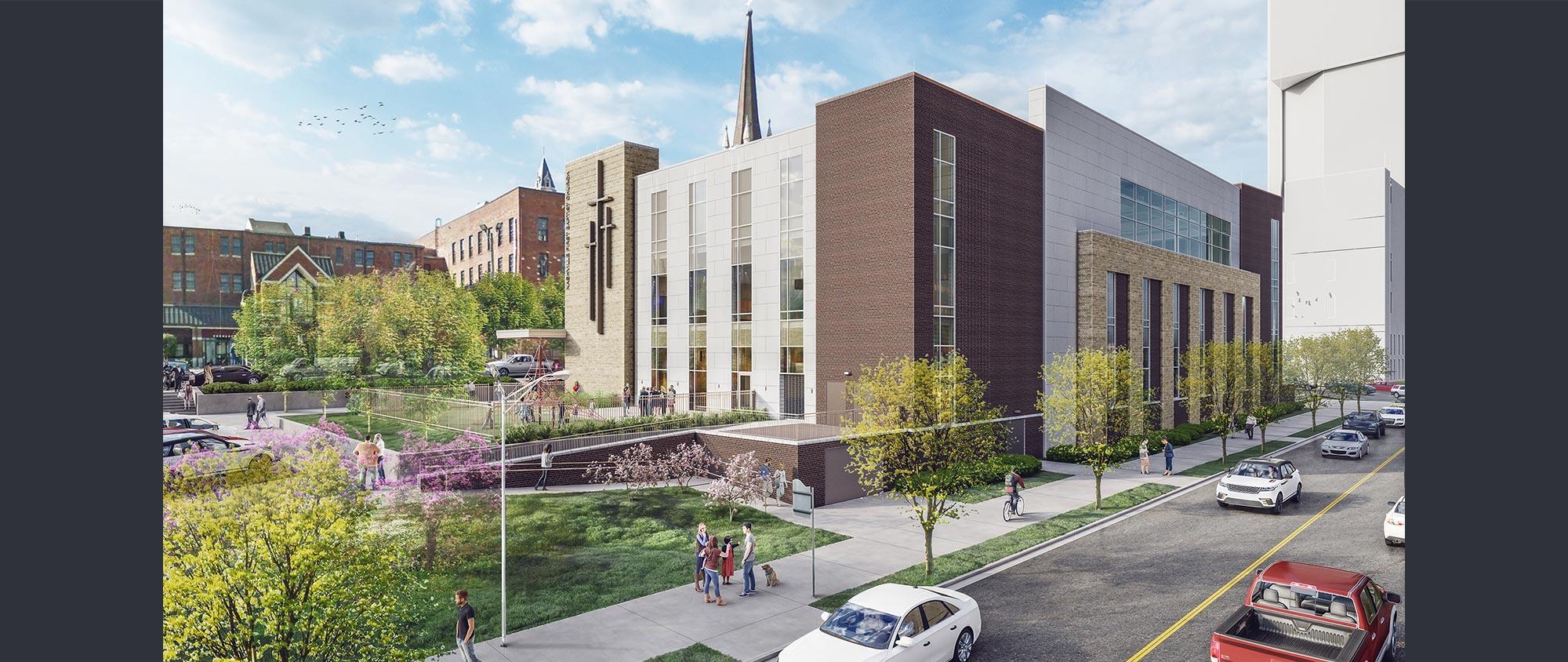 Nashville First Baptist Church Broadway Expansion