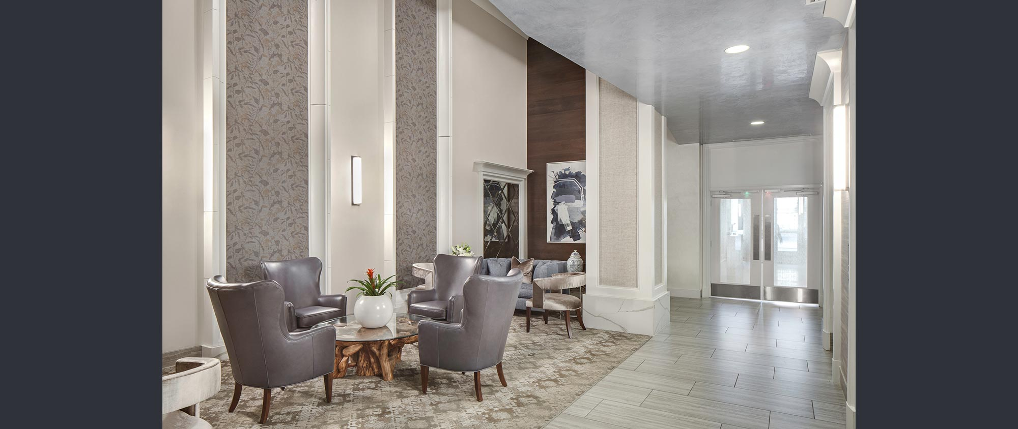 Viridian Lobby Renovation