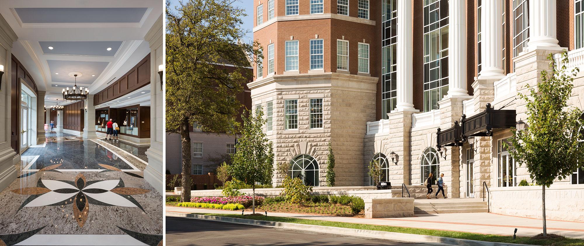 Belmont University R. Milton and Denice Johnson Center