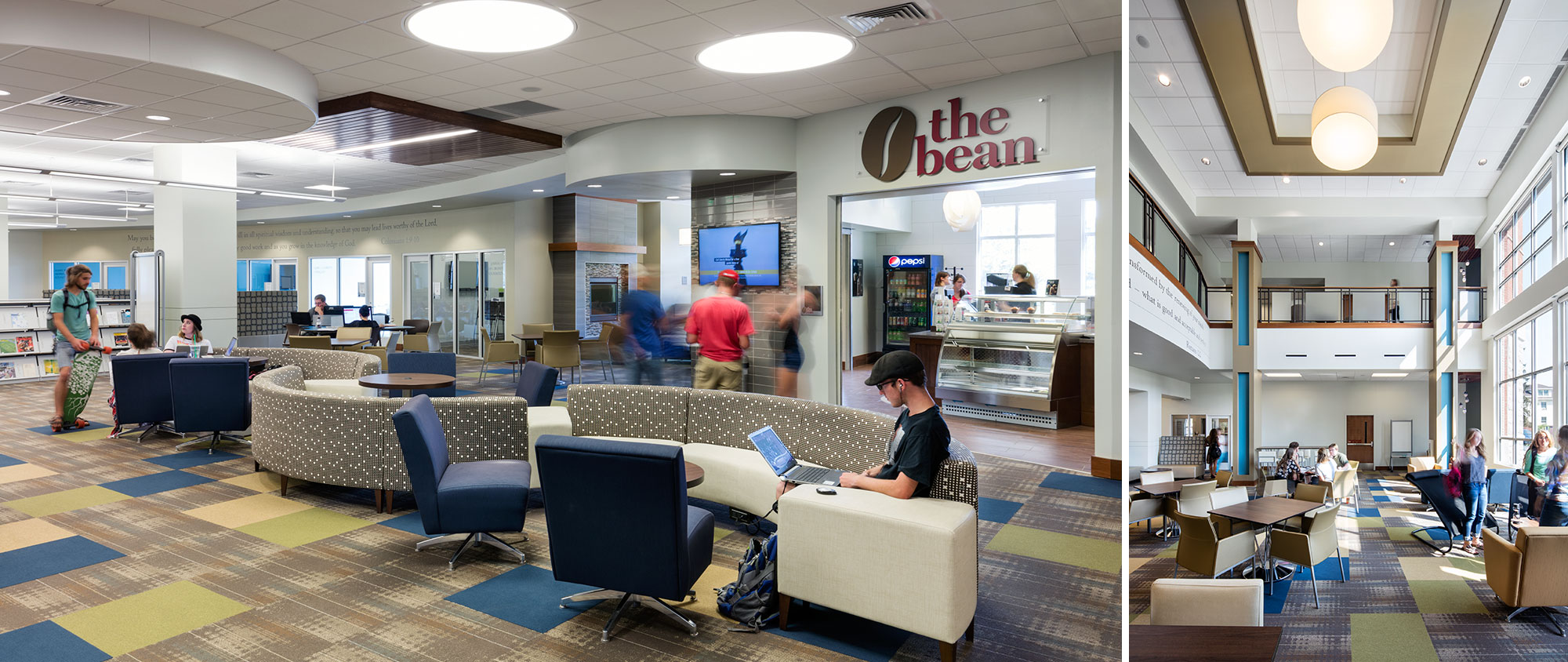 Northwest Nazarene University Leah Peterson Learning Commons & Riley Library