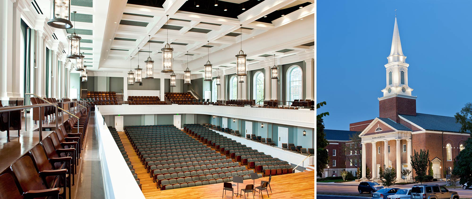 Belmont University McAfee Concert Hall