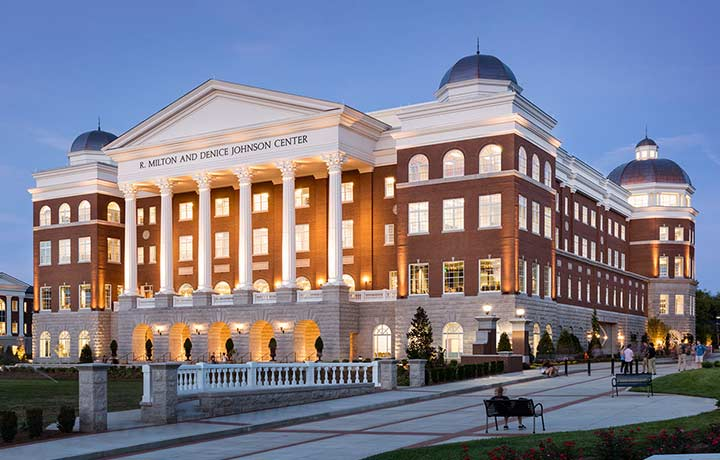 Belmont University R. Milton and Denice Johnson Center