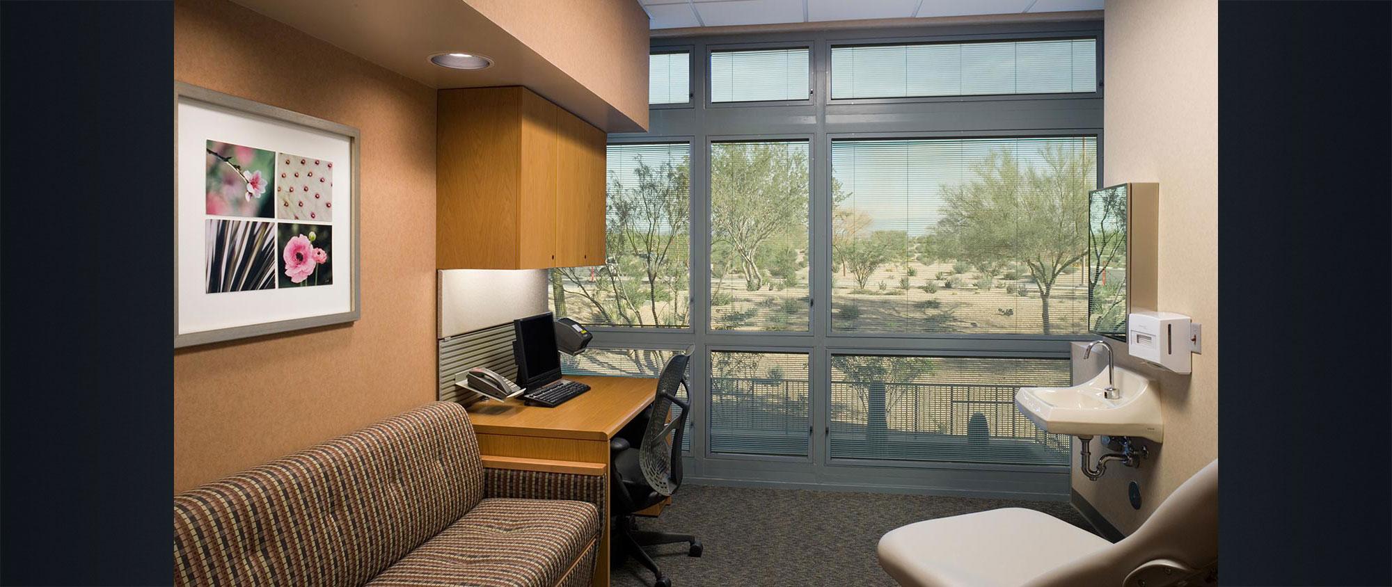 Mayo Clinic Hospital and Mayo Clinic Specialty Building