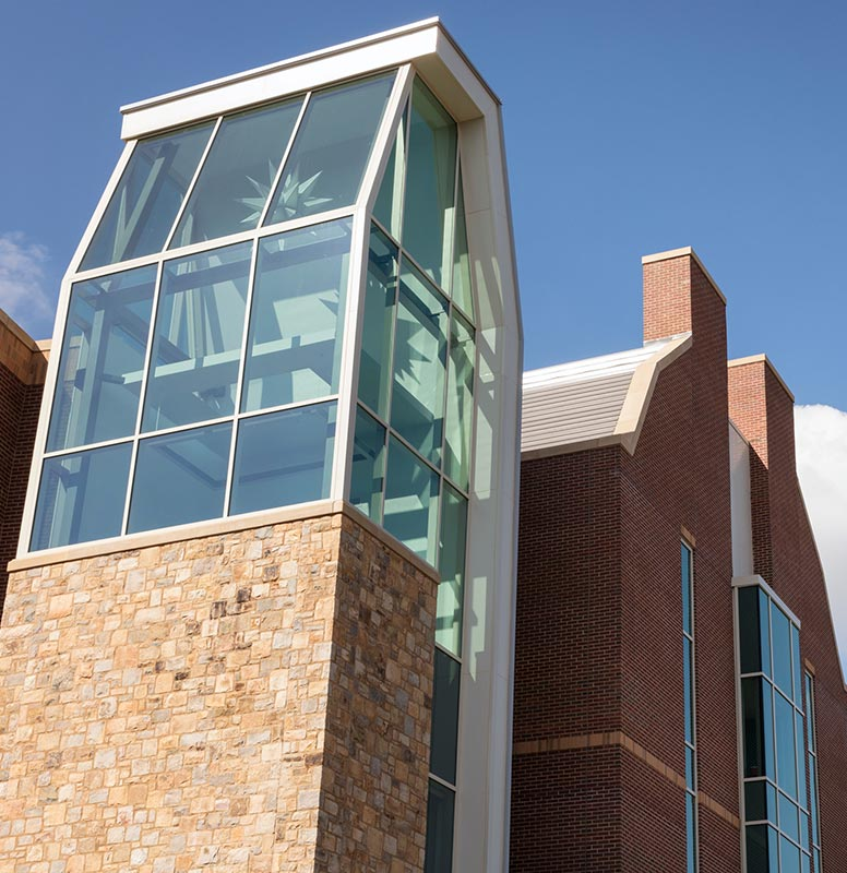 Moravian College Sally Breidegam Miksiewicz Center for Health Sciences