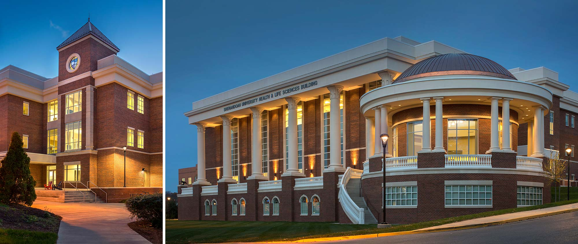 Shenandoah University Health & Life Sciences Building