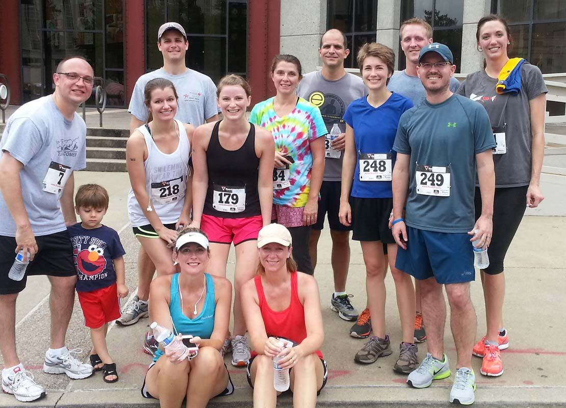 Run for Team Comer